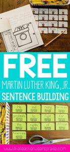 free-martin-luther-king-activities