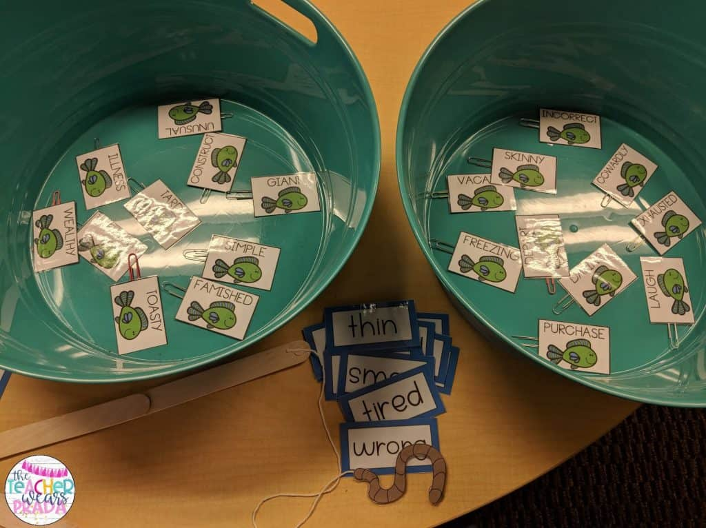 Fishing for root words were so much fun as part of this camping themed classroom activity pack.  Perfect to keep my students engaged for the end of the school year.