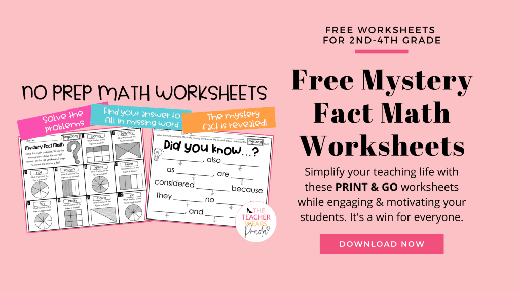2nd grade math worksheets I use in my classroom